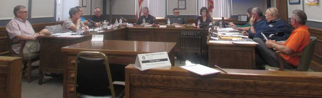 Ottawa council members met Monday and approved a tax increment finance district that will allow sewer lines to be moved for a project to construct a Dollar Tree in Ottawa.