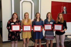 Rudd Scholars named at Ohio State-Lima