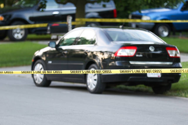 The Allen County Sheriff's Office responded to a call Friday evening of shots fired on Lark Avenue in Lima. Upon arrival at the scene, officers found a deceased man on the ground from apparent gunshot wounds.