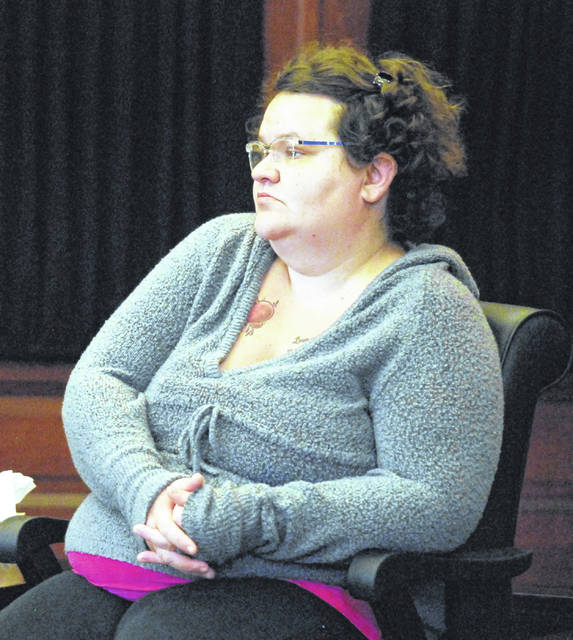 Tiffany Reynolds met Brent Williams three weeks after the death of his estranged wife, Erin Mulcahy, she testified Wednesday in Auglaize County Common Pleas Court in Wapakoneta.