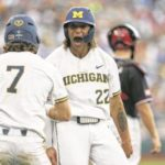 Michigan defeats Texas Tech to open College World Series