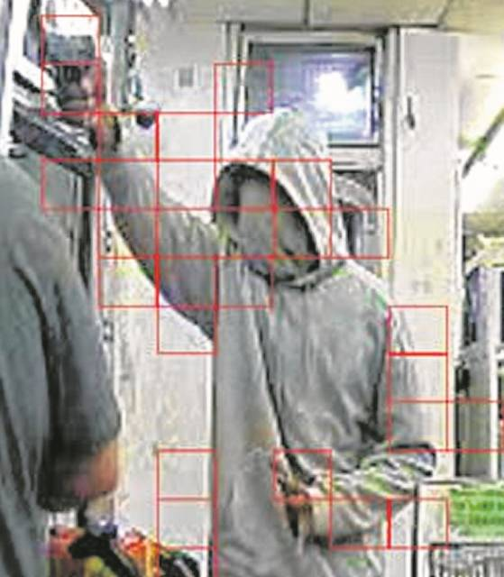 Closed circuit cameras captured the robbery Monday of the Speedway at North Cole Street and Elida Road.