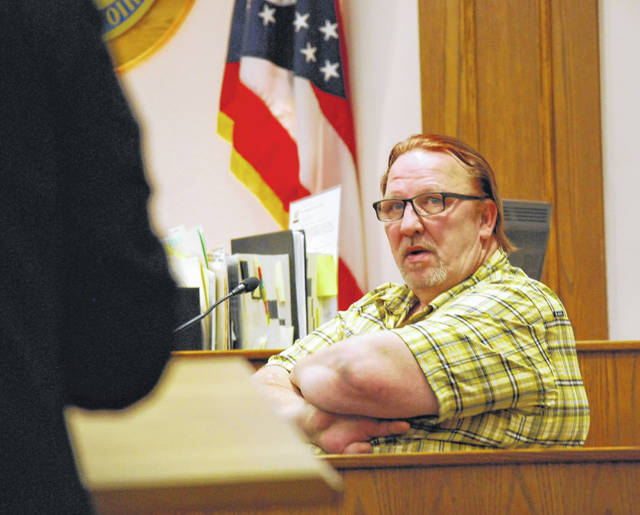 Lima resident James Vice testified Tuesday that he had a verbal confrontation with Clois Ray Adkins a short time before an altercation between Adkins and Robby Smith that left Smith dead.