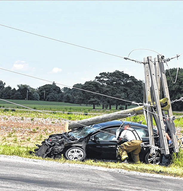 Bluffton wreck stops traffic - The Lima News