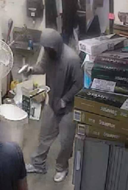 Lima Police Department   Submitted photo Anyone with information about an armed robbery at the Clark gas station on Lima's Findlay Road should call LPD Detective Todd Jennings at 419-221-5228 or CrimeStoppers at 419-229-STOP (7867).