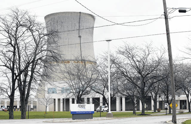 Ohio lawmakers on Tuesday added a new fee to every electricity bill in the state. The fee will will be used for a $1 billion financial rescue of the Davis-Besse Nuclear Power Station in Oak Harbor, pictured above, and the Perry nuclear facility near Cleveland. (AP Photo/Ron Schwane, File)