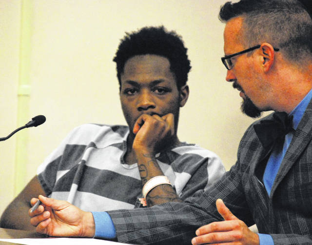 Demondtray Burns, 19, of Lima, appeared in Allen County Common Pleas Court Wednesday morning to waive his constitutional right to a speedy trial. The teenager is charged with aggravated robbery with a firearm.