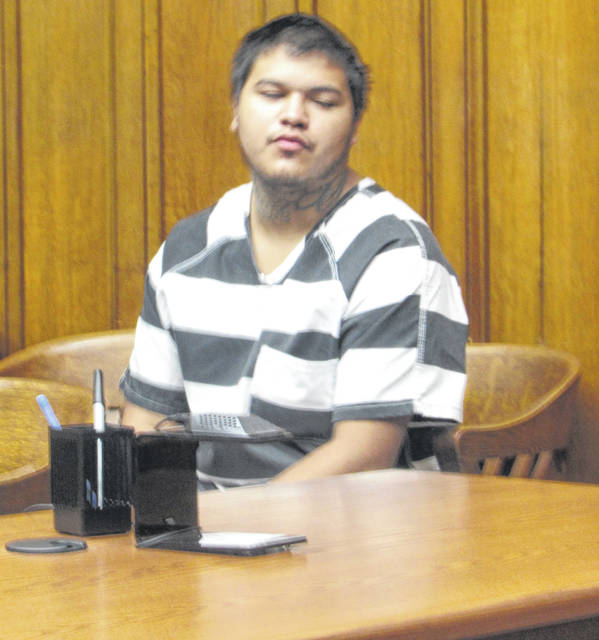 Isaiah Oliver appeared in Putnam County Municipal Court Tuesday for an initial arraignment.