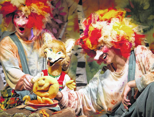 Performers from PuppetART Theatre of Detroit will have two performances and hands-on workshops at Saturday's Town Creek Live festival.