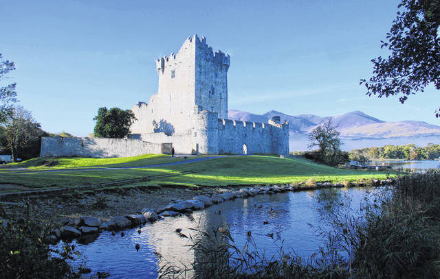 Pictured is Ross Castle in Killarney National Park, one of the many places Columbus Grove residents Jerry Bunn and Vicki Doty have visited.