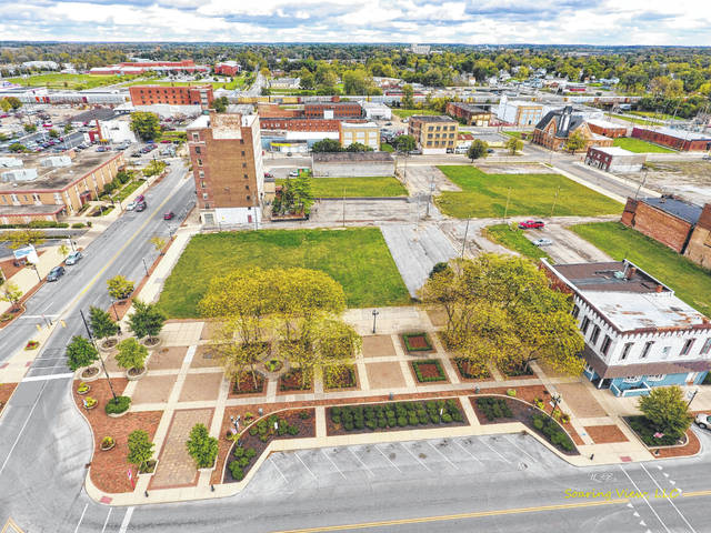 Land has been cleared in downtown Lima for the proposed campus. Many in the community have voiced concerns about whether the plan will be completed due to a lengthy property acquisition period that hampered the project and required that its completion date be set back. Lima News File Photo/2017