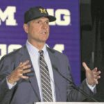 Harbaugh defends comment on Meyer