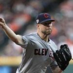 Indians pitcher Kluber progressing