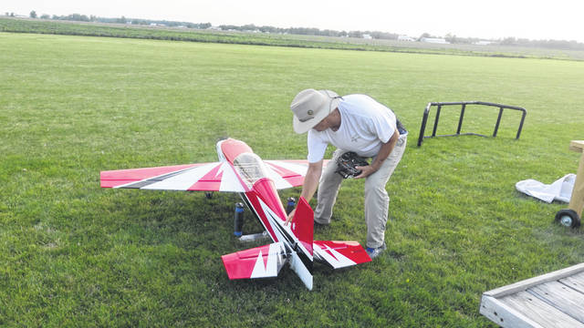 Some of the remote-controlled planes that will be shown at the Big Bird Fly-In next Saturday will be worth thousands of dollars. Submitted Photo
