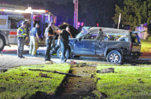 One hurt in rollover crash in Lima