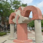 Interactive map of public art projects in Lima region
