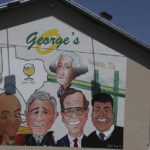 Get This: Texas restaurant with famous men named George changes mural
