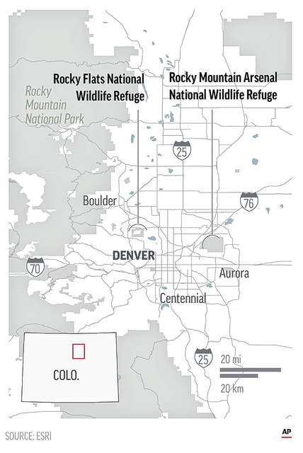 A handful of sites where the United States manufactured and tested weapons are now havens for wildlife.;