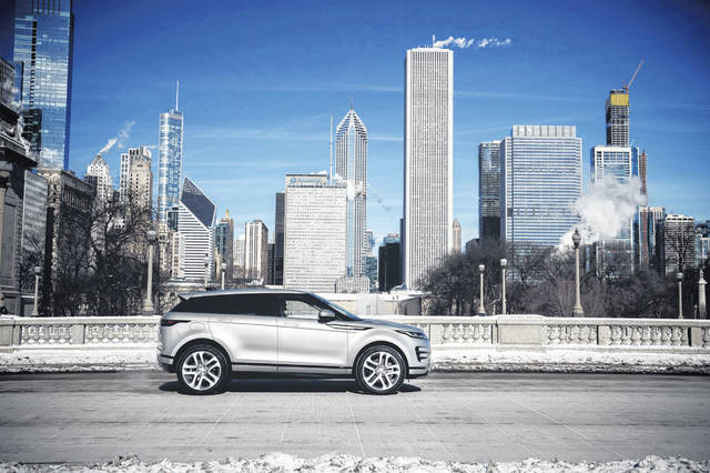 The 2020 Range Rover Evoque SUV (Range Rover Photo)