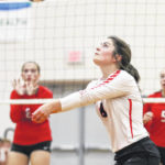 Bluffton defeats P-G in volleyball