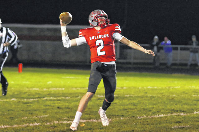 Junior Blake Reynolds will be back as the Columbus Grove signal caller in 2019