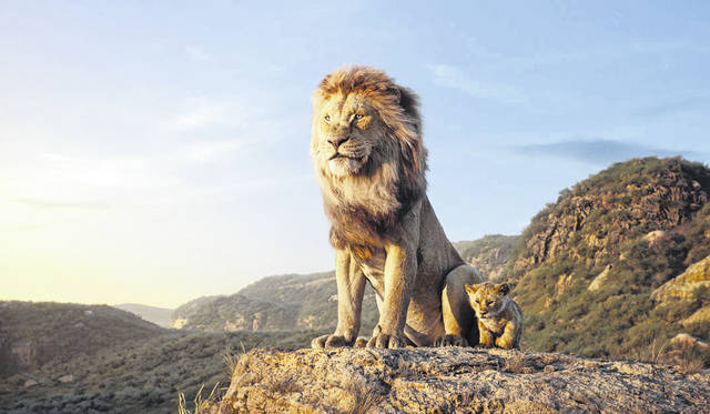 A still from 'The Lion King.'