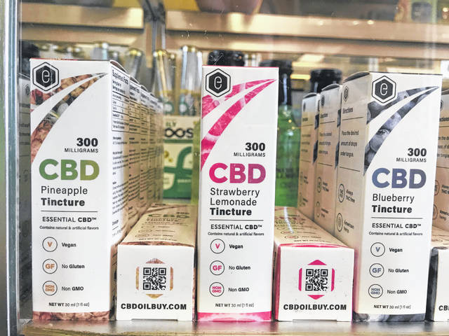 CBD is sold in hundreds of forms, including tinctures, a liquid dietary supplement.