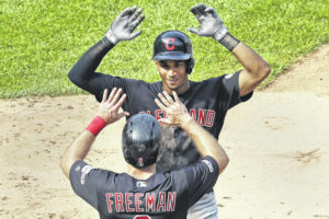 Indians get split in four-game series with Yankees