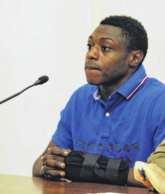 Kevonta Luster, 20, of Lima, was sentenced to three years on probation Monday for setting up a transaction via Facebook to purchase a cell phone but instead stealing the phone after knocking the seller to the ground and leaving. J Swygart Photo | The Lima News