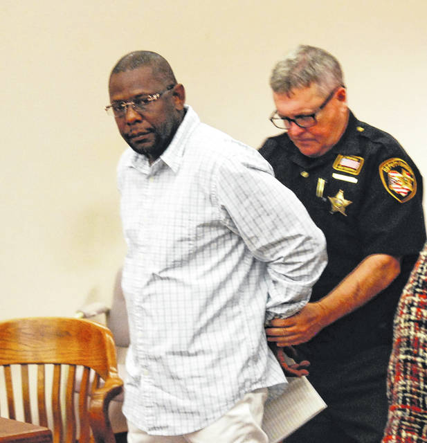 Leonard Bingham, 52, of Lima, left an Allen County courtroom in handcuffs Wednesday after his bond was revoked. The Third District Court of Appeals earlier this month denied an appeal filed by Bingham following his conviction and 12-year prison sentence on drug and weapon charges.