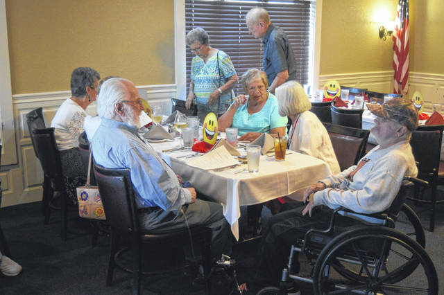 The Class of 1954 from Lima Central High School held its 65th class reunion Saturday night in Lima.