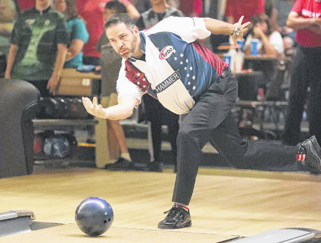 PBA pro Tom Daugherty participated in the the PBA Bowlerstore.com Classic Pro-Am at Pla-Mor Lanes in Coldwater Wednesday that helped get things rolling for the three-day event. Over the next two days the top bowlers will be competing.