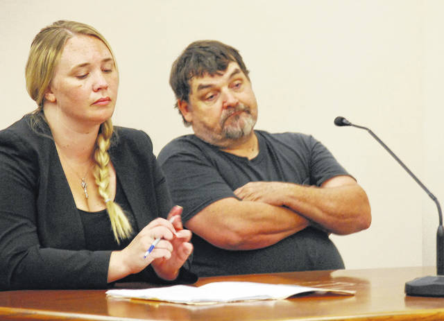 Randy Maze, 60, of Lima, entered pleas of not guilty Tuesday to three felony charges brought against him by the Ohio Attorney General office's environmental division. He appeared in court with his court-appointed attorney, Heather Kocher.