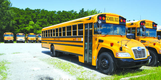 Drivers are urged to be careful around school buses, as the school year is about to begin.