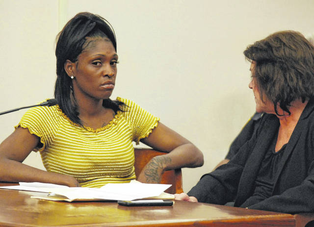Shanita Harvey, 30, of Lima, was sentenced to three years on probation on a charge of burglary during a hearing Thursday in Allen County Common Pleas Court. Harvey was the fourth and final person to be sentenced in connection with an armed robbery at the Rodeway Inn on Lima's east side last October.