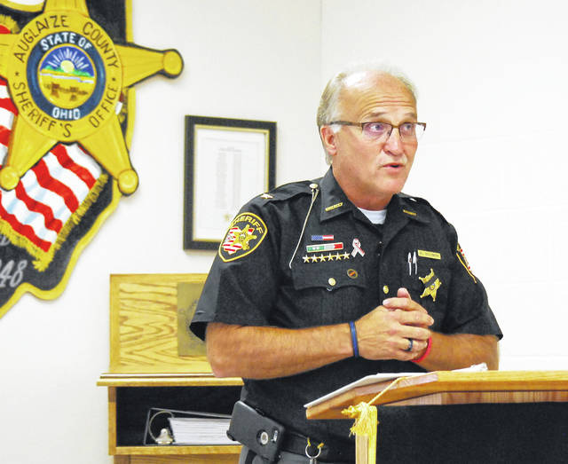 Auglaize County Sheriff Al Solomon announced Friday he will not seek a fifth term in office when his current term expires at the end of 2020.