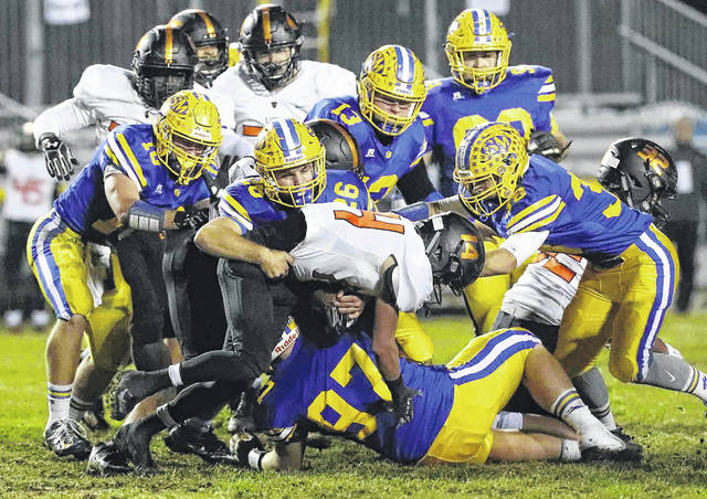 The St. Marys defense will have some holes to fill on the defensive line.