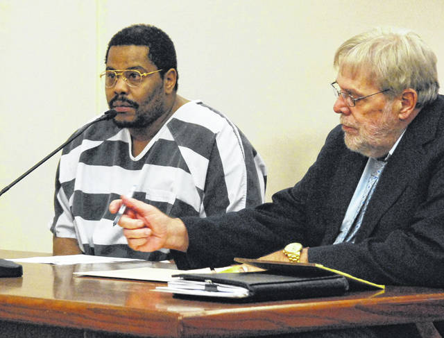 Lima resident Terry Jackson, who faces charges of rape as a sexually violent predator, appeared in a Lima courtroom Thursday to waive his right to a speedy trial.