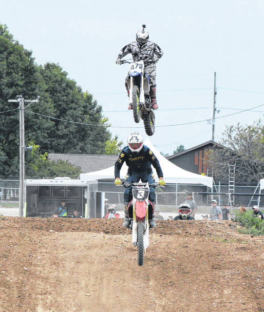 Motocross racing was the big draw Saturday afternoon at the Van Wert County Fair.