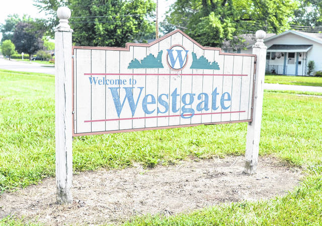 One of the several projects to be funded by the Neighborhood Impact Mini Grant will be an updated sign at the entrance of the Westgate neighborhood.