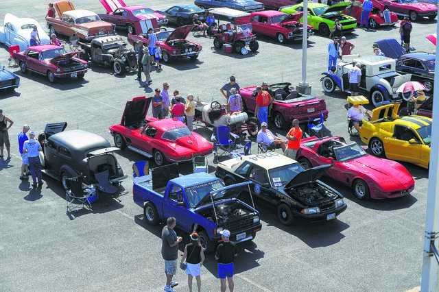 Heartbeat of Lima Charity Car Show presented by Tom Ahl Family of Dealerships. Cars and motorcycles were on display at the event.