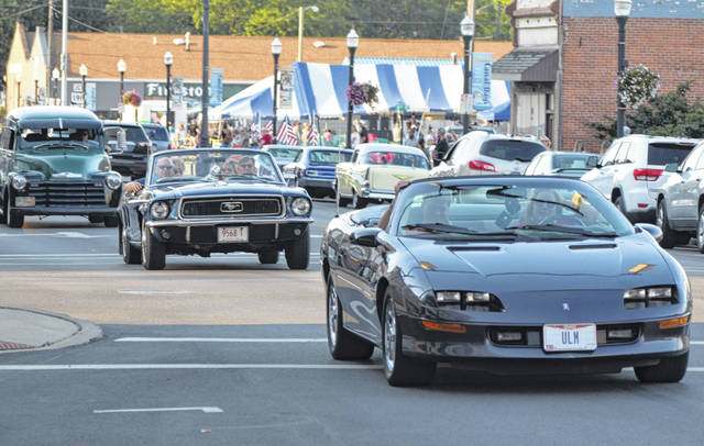 Downtown Delphos came alive Saturday night for a night of cruising.