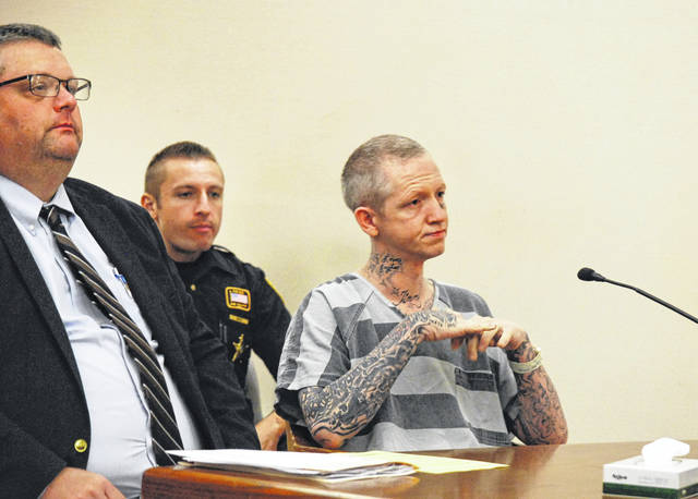 """Jay Holliday, the Lima man charged with 53 sex-related felonies, parted ways with his court-appointed attorney, John Hopkins, during a hearing Monday in Allen County Common Pleas Court. Both Holliday and Hopkins agreed the men had reached a """"complete breakdown in communication,"""" necessitating the change."""