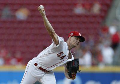 The Reds' Sonny Gray struck out 10 during Thursday night's game against St. Louis in Cincinnati. (AP photo)