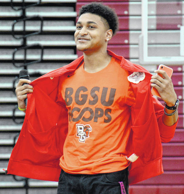 Lima Senior's Josiah Fulcher announced Thursday he will be playing basketball for Bowling Green State University.