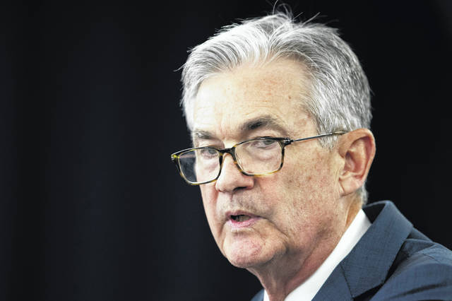 Federal Reserve Chairman Jerome Powell said Friday the Fed doesn't anticipate a recession in the U.S. or globally.