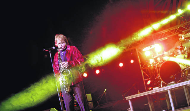 Eddie Money performs at GlenOak High School in Canton in 2016. Family members said Eddie Money died Friday. Money performed at Square Fair in Lima in August 2011 and more recently March 29, 2019, at Lima's Veterans Memorial Civic Center.