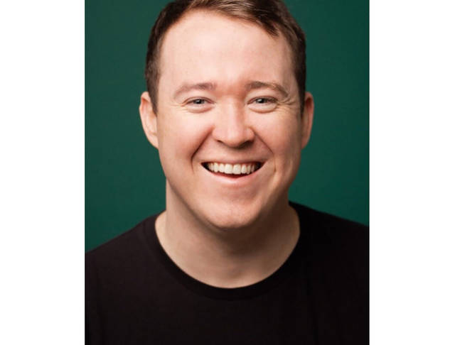 """This photo released by NBC shows Shane Gillis who was to join the cast of """"Saturday Night Live,"""" premiering its 45th season on Sept. 28. """"Saturday Night Live"""" rescinded its invitation to Gillis who posted a video last year in which he used a racial slur for Chinese people and derided Asians trying to learn English. (Phil Provencio/NBC via AP)"""
