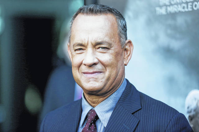 Tom Hanks, shown here in September 2016, will be the recipient of the Cecil B. DeMille Award at January's Golden Globes Awards.