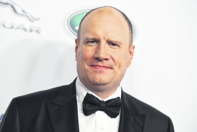 "Marvel Studios president Kevin Feige is seen in 2018 at the BAFTA Los Angeles Britannia Awards in Beverly Hills, Calif. Feige is teaming up with Lucasfilm to develop a new ""Star Wars"" film. He's also heading up a renewed partnership with Sony on a new ""Spider-Man"" film."